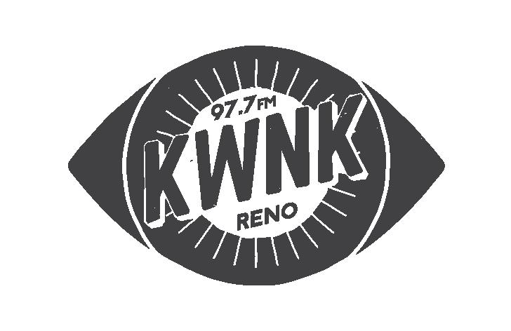97.7 FM. KWNK RENO